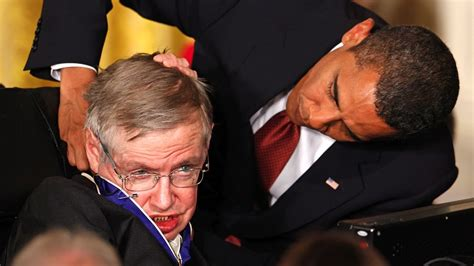 where are the obamas now stephen hawking at the white house youtube