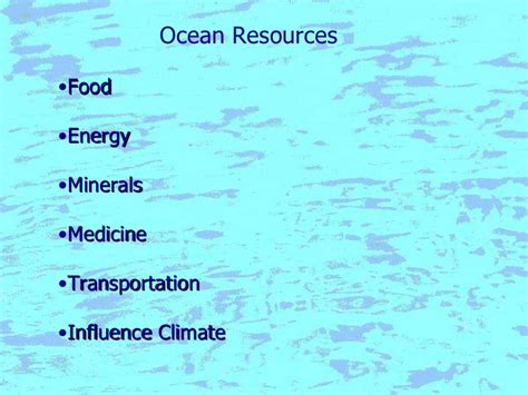 Ocean Notes A Comprehensive Study On Different Ocean