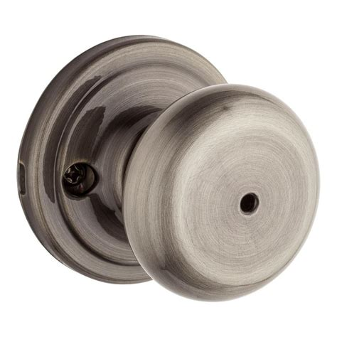 bed knobs kwikset cove polished chrome bed bath knob 300cv 26 6al rc