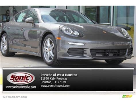 Porsche Panamera Interior Colors by 2015 Agate Grey Metallic Porsche Panamera 105316520 Gtcarlot Car Color Galleries