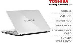 toshiba satellite l850 b515 15 6 inch intel i5 6gb ram 750gb hdd 1gb dedicated win 8 laptop
