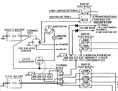 split charge wiring diagram 27 wiring diagram images