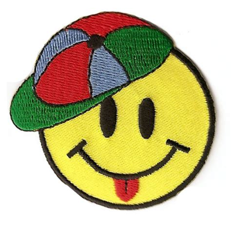 Smiley Cap by Smiley With Cap Patch