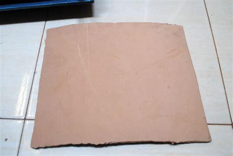 Kertas Jeruk membuat cetakan motif kulit jeruk menggunakan kertas las barutino sandal