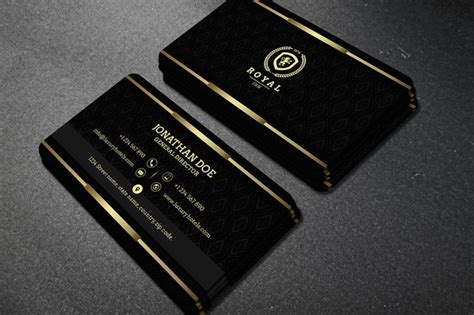 gold buisness card template gold and black business card 40 business card templates
