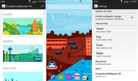 google now wallpaper app use the google now backgrounds as your wallpaper with this