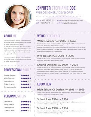 49 Modern Resume Templates That Get You Hired Fancy Resumes Fancy Resume Templates Free