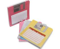 Anneui Mustache Sticky Notes Pink shaped pop up notes dispenser