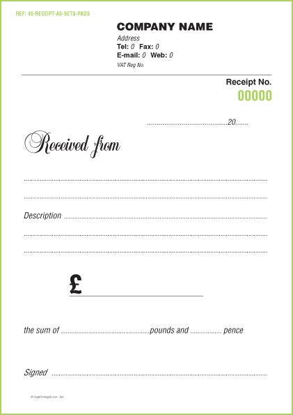 receipt templates uk receipt pads 163 35 using free receipt pads templates