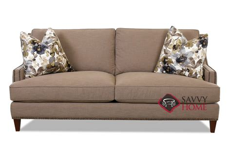 couch dallas dallas fabric sofa by savvy is fully customizable by you