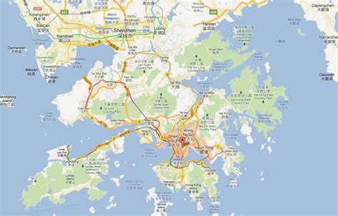 map of kowloon kowloon map and kowloon satellite image