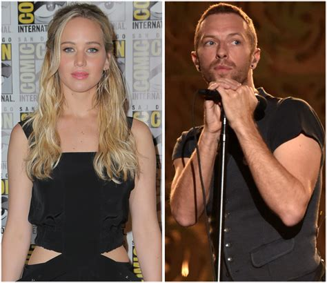 chris martin and jennifer lawrence jennifer lawrence chris martin quotes