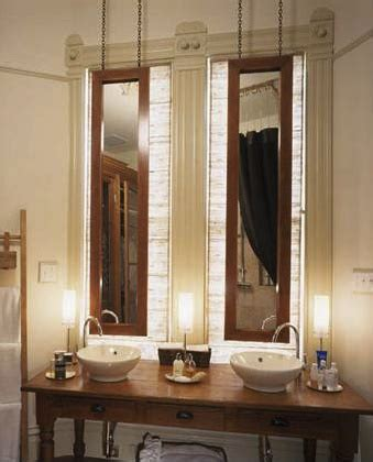 hanging mirror in bathroom 17 best images about richardson bathroom on pinterest