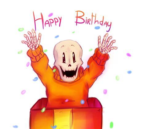 happy birthday undertale by zudix on deviantart happy birthday by missdiealot on deviantart