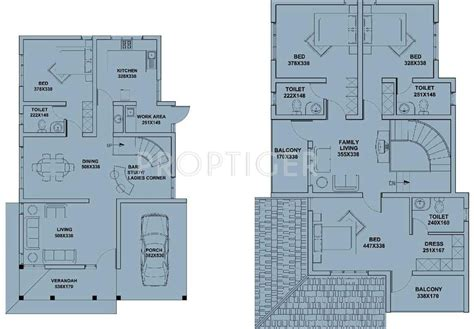 hyde park floor plan 2000 sq ft 4 bhk 4t villa for sale in kent constructions hyde park thripunithura kochi