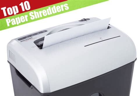 best shredders the top 10 best reviewed paper shredders jerusalem post