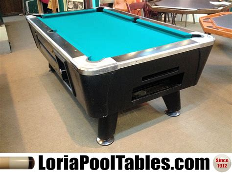 sold pre owned 6ft dynamo coin operated eagle pool table
