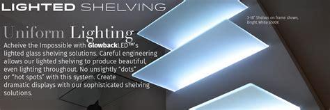 led glass shelf lighting led glass shelf lighting shop led shelf lighting