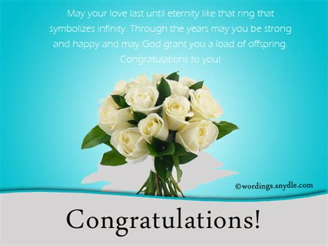 Wedding Messages Of Congratulation by Congratulations On Your Wedding Wishes Www Pixshark