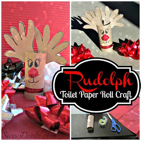 childrenss reindeer christmas crafts images handprint reindeer toilet paper roll craft for rudolph crafty morning
