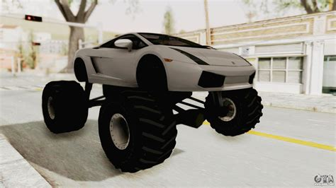 lamborghini truck lamborghini gallardo 2005 monster truck for gta san andreas
