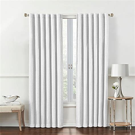 white back tab curtain panels buy rockwell 108 inch back tab window curtain panel in
