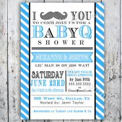 Free Baby Q Invitations Templates by Baby Q Invitations Template Best Template Collection