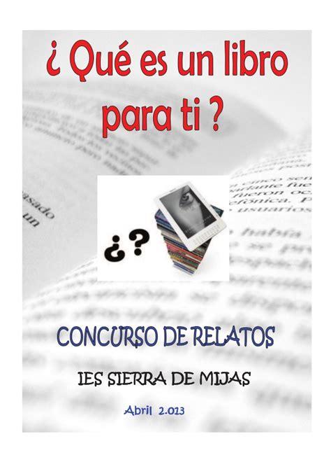 libro do re qu qu 233 es un libro para ti relatos de un concurso