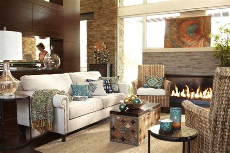 pier one living rooms surat trunk brown espresso home decor furniture ideas