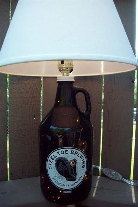 recycled diy bottle lamps recyclart