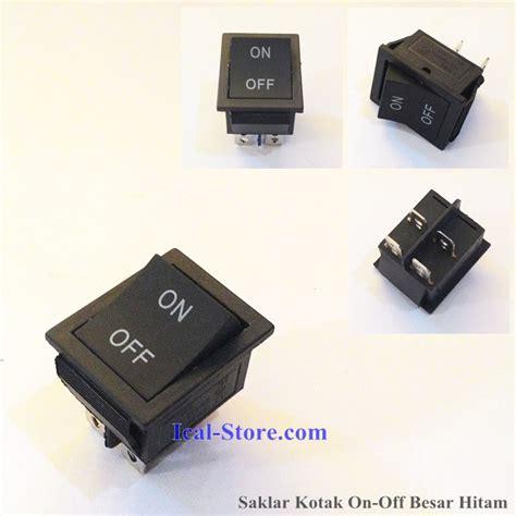 Limit Switch Panjang Roda Hitam saklar on kotak besar 4 kaki hitam ical store ical store