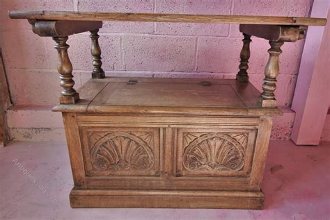 small monks bench small light oak monks bench antiques atlas