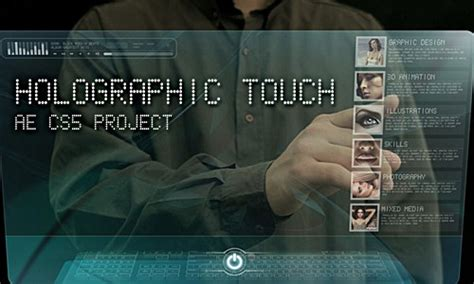 Hologram After Effects Template 25 After Effects Templates For Futuristic Presentations