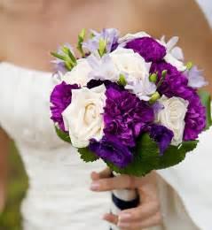 purple wedding flowers wedding bouquets the wedding specialists