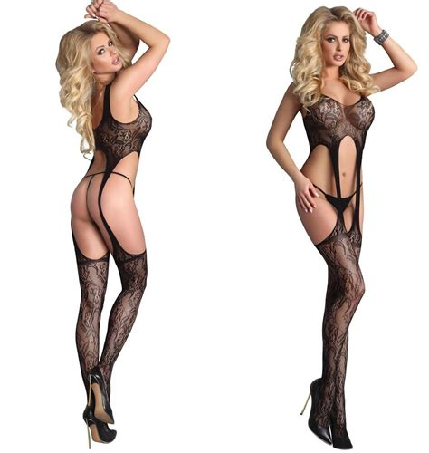 New Bodystocking Bsolg75 Open Crotch ultra bodystocking black kalliope crotchless open crotch livco corsetti ebay