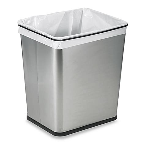 the cabinet garbage cans polder 174 the counter 7 gallon recycle trash can bed bath beyond