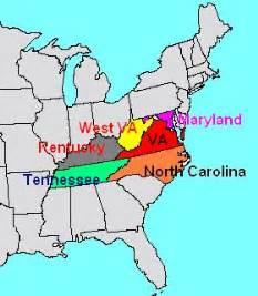 map of virginia and carolina border virginiastandardsdetailall