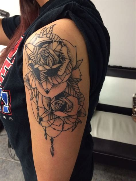 dreamcatcher tattoo with roses meaning 72 mysterious dream catcher tattoos design mens craze