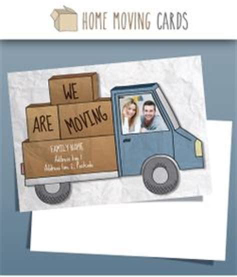 moving home cards template 1000 images about change of address cards photo templates