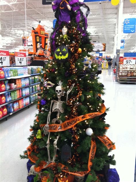 spooky vegan  days  creepmas halloween christmas tree inspiration