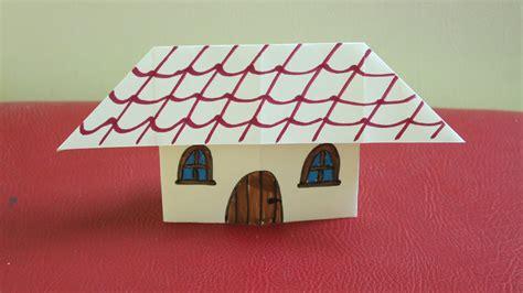 Papier De Maison by Comment Faire Une Maison En Papier