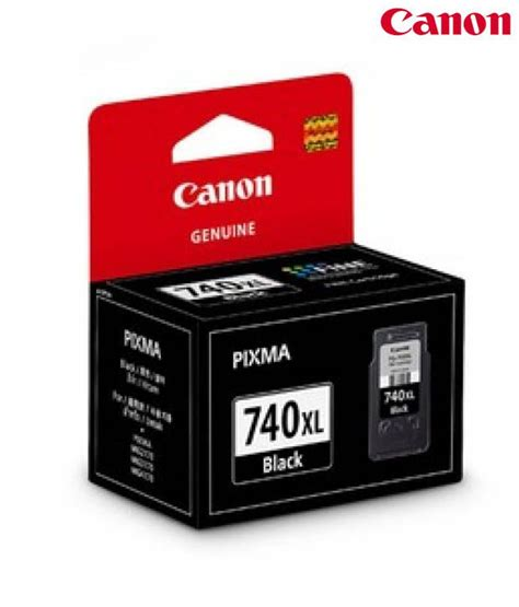 Canon Pg740 canon pg 740 xl ink cartridge buy at best price in