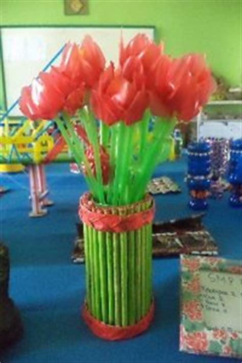 cara membuat lu hias pelangi dari sedotan cara membuat bunga dari sedotan plastik bekas