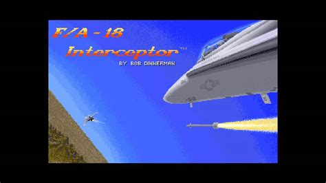 theme music interceptor amiga music f a 18 interceptor main theme youtube