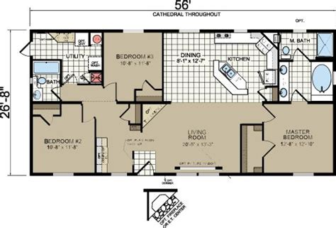 redman homes floor plans morton building homes floor plans redman a526 manufactured and modular homes home