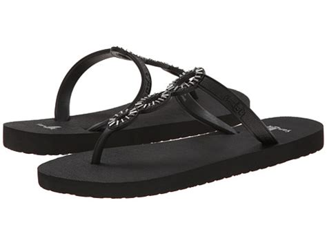 sanuk sandals review reviews sanuk ellipsis black