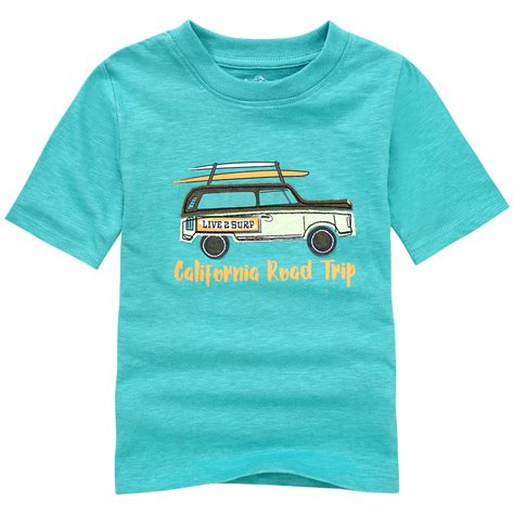 T Shirt Mit Autos Kinder by Kindermode Topolino In T 252 Rkis