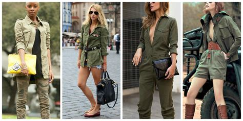 Army Look look to the army fashion tag