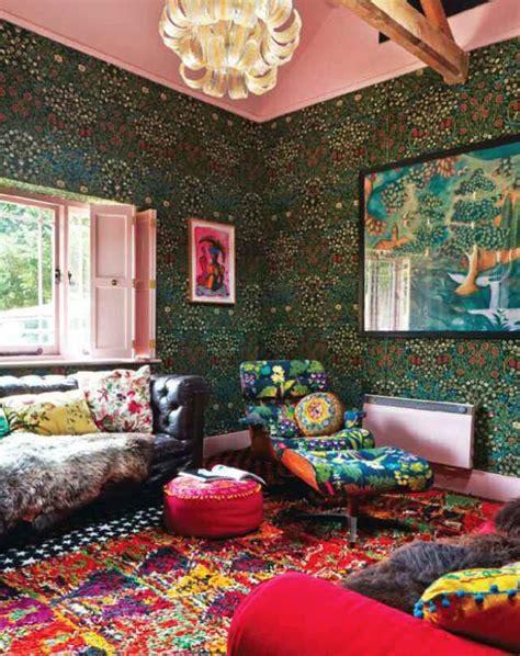Floral Eccentric   Interiors By Color