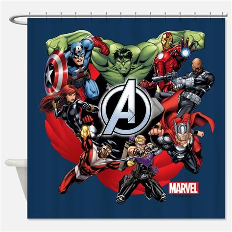 avengers curtains marvel shower curtains marvel fabric shower curtain liner